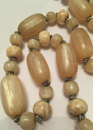 Колье ожерелье бусы винтаж бакелит люцит