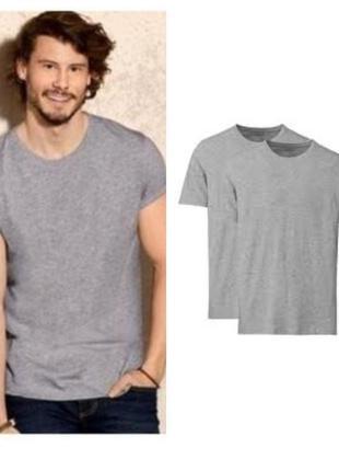 Набор футболок 2 шт. livergy германия- цена за набор