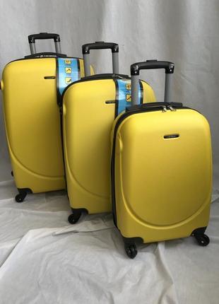 Коплект чемоданов carbon