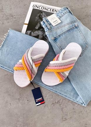 Шльопанці tommy jeans