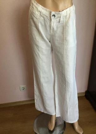 Льняные свободные штаны от nile s