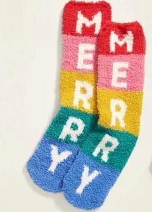 Мягкие пушистые носочки old navy cozy sock для дома для сна сша