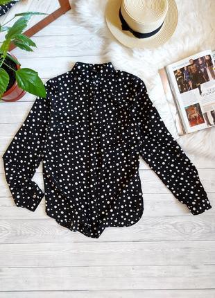 Блуза в горох рубашка шифоновая papaya блузка в горошек сорочка в горошок