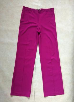 Легкие летние штаны брюки палаццо клеш с высокой талией river island, 12 размер.