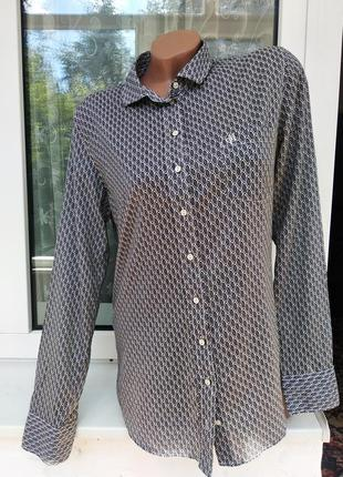 Sale стильная рубашка в узор marc o polo