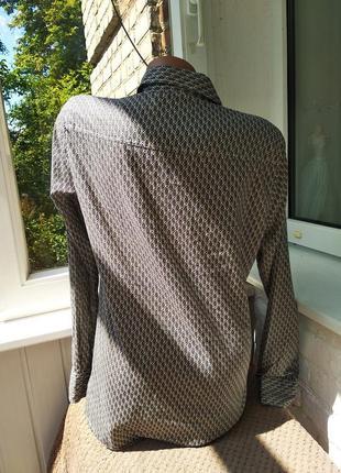 Sale стильная рубашка в узор marc o polo3 фото