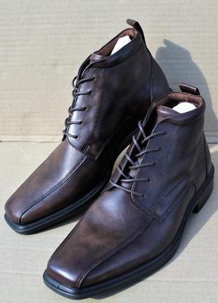 Ботинки ecco 620234 minneapolis оригинал натуральна кожа верх