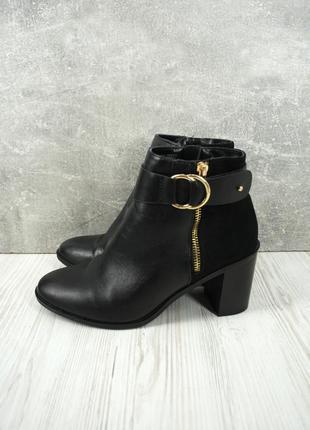 """Оригинальные брендовые ботинки, ботильоны """"f&f"""". размер uk5/ eur38."""