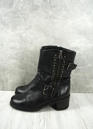 Стильные демисезонные ботинки, сапоги lavorazione artigiana. размер eur 37-38.