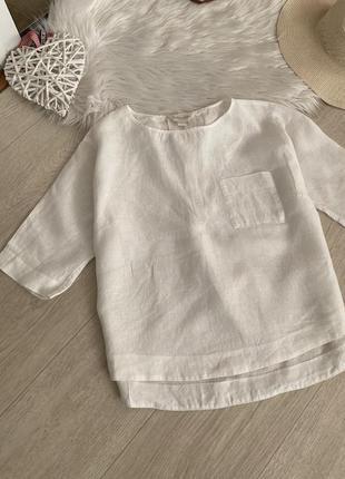 Льняная блуза от monsoon