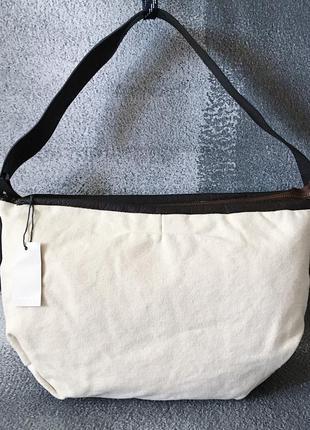 Сумка канвас кожа john lewis кожаная сумка
