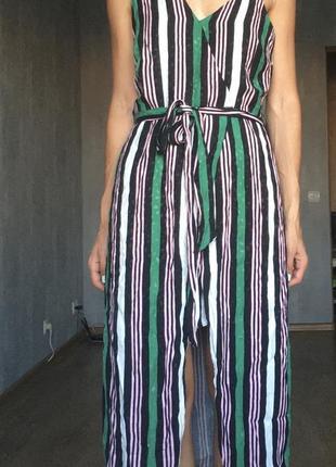 Очень красивое платье в полоску