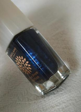 💙💫colour breeze💤лак для ногтей  oriflame💎💙💎 тёмно-синий с бронзовым отливом💫💎💫