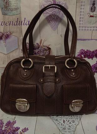 Кожаная сумка от marc jacobs
