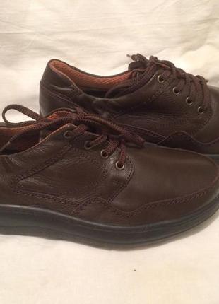 Туфли полуботинки ботинки полная нога