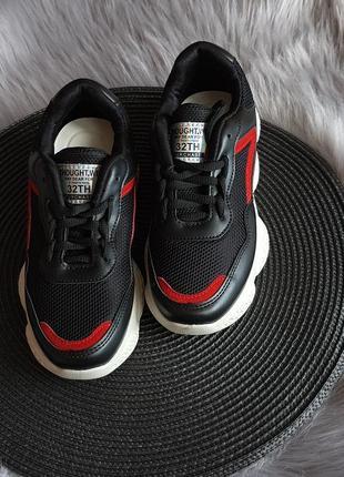 Кросівки для піділітків, чорні кросівки, кроссовки для подростков