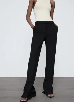 Стильні штани в заді з розпоркою zara
