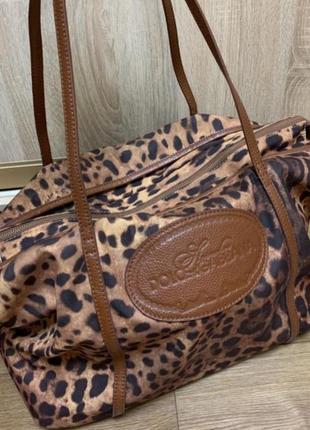 Дорожная сумка с длинным ручкой