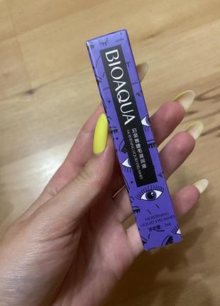 Сыворотка для восстановления роста ресниц bioaqua корейская
