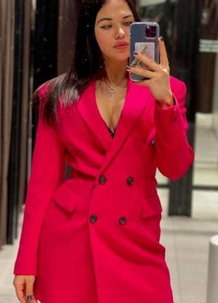 Платье пиджак блейзер zara