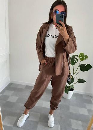 Костюм рубашка+брюки