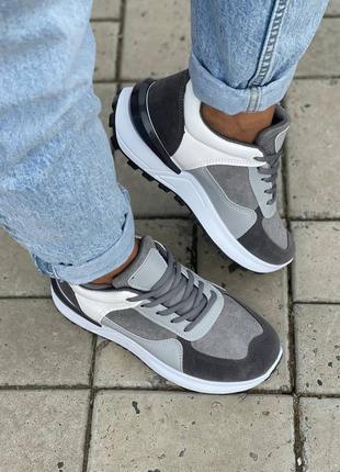 Кеды серые женские кроссовки кросівки жіночі кеди сірі