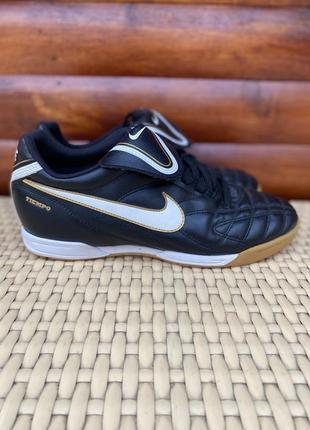 Nike tiempo кожаные копы бампы футзалки размер 42 - 41
