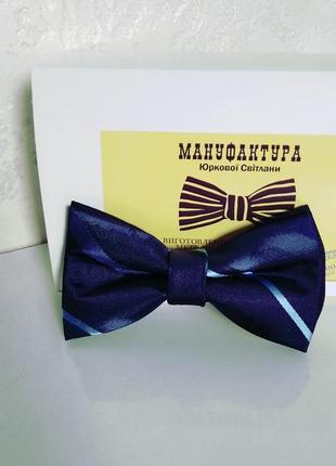 Шелковый галстук бабочка. метелик дитячий.