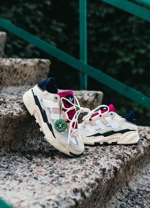 Adidas niteball cream white/pink