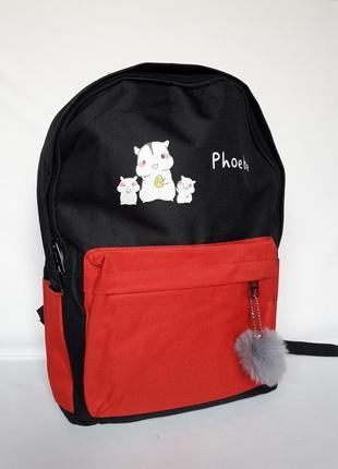 Рюкзак жіночий, набір 4в16 фото