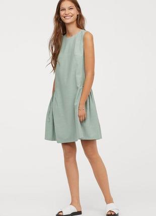 Новое платье h&m из натуральной ткани. размер 44