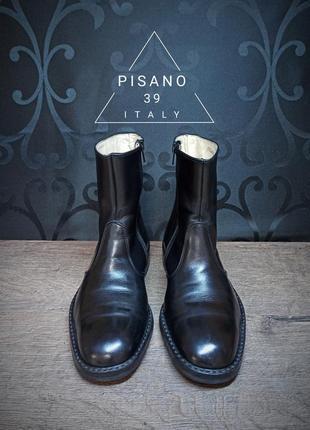 Ботинки pisano 39p (26cm) italy ykk