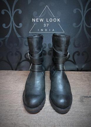 Ботинки new look 37p (24.5cm) india ykk