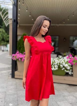 Красное женское платье. червоне жіноче плаття. червона сукня!  женское платье