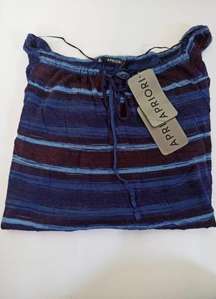 Легка кофтинка з вирізом зверху на рукавах apriori.брендовий одяг stock
