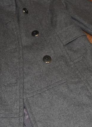 Пальто френч коротеньке xs-s