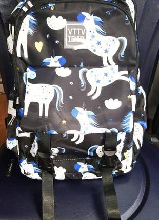 🦄🦄🦄качественный рюкзак с 🦄 единорогом
