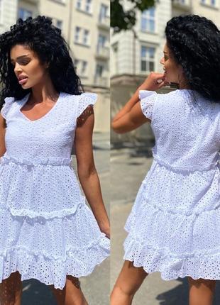 Платье прошва. летнее платье.