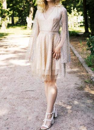 Вечернее платье с открытой спиной1 фото