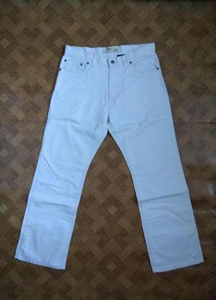 Штаны брюки джинсы белые angelo litrico ☕ размер 32w/32l