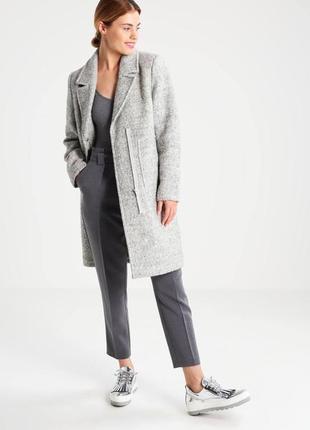Полушерстяное пальто, идеально на осень и не очень холодную зиму