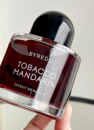 Byredo tobacco mandarin оригинал_extrait de parfum 2 мл затест духи