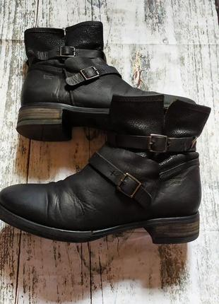 Кожаные ботинки coque terra