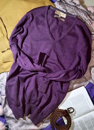 Пуловер 100% шерстьмериноса (l)