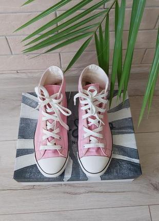 Кеди converse, рожеві кеди,жіночі кеди 36 розмір.оригінал.