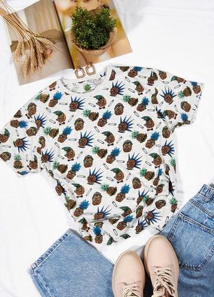 Женская футболка с принтом, серая футболка унисекс, оверсайз футболка