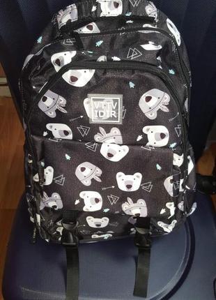 🐻 качественный рюкзак в школу🐻