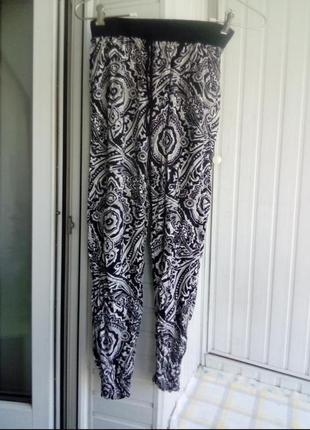 Вискозные легкие брюки бриджи