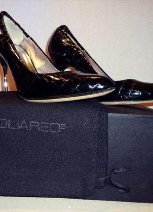Туфли женские dsquared2 на шпильке