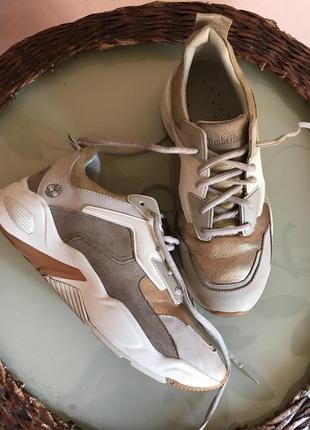 Timberland кроссовки кожаные